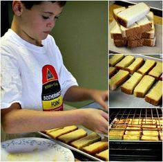 DIY French Toast Sticks