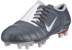 5c627ea0e6e Nike Men s Air Zoom Total 90 III FG Graphite white 308229-011 10.5