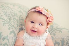 Love the softness and coloring of this image.  Great headband too.