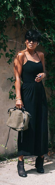 Chic In Black / Fashion By Kyrzayda