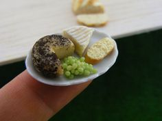 Cheese and Bread 1/12 Scale Dollhouse Miniature Food by shayaaron