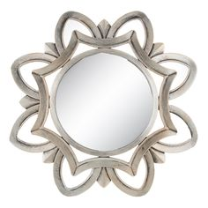 Brushed Silver Flower Wall Mirror Home Decor hobby lobby home decor Hobby Lobby Mirrors, Hobby Lobby Wall Art, Hobby Lobby Furniture, Black Decor, White Decor, Hobbies For Girls, Hobby Shops Near Me, Hobby Lobby Christmas, Silver Walls