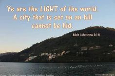 Ye are the Light of the world. A city that is set on an hill cannot be hid.  ~Bible #ShriPrashant #Advait #bible #jesus #god #light #intelligence #understanding #self  Read at:- prashantadvait.com Watch at:- www.youtube.com/c/ShriPrashant Website:- www.advait.org.in Facebook:- www.facebook.com/prashant.advait LinkedIn:- www.linkedin.com/in/prashantadvait Twitter:- https://twitter.com/Prashant_Advait