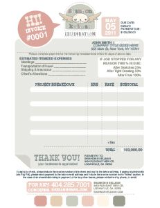 Invoice design, Invoice template and Templates on Pinterest