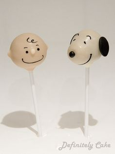 charlie brown cake | Charlie Brown and Snoopy Cake Pops | Flickr - Photo Sharing!
