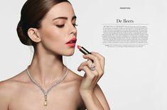Bridget Satterlee for Harrods Magazine Bridget Satterlee, Model Look, Model Agency, Harrods, Poppies, Magazine, Portrait, Rose, Fashion Models