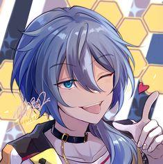 Chibi, Anime Guys Shirtless, Boy Drawing, Kawaii, Cute Anime Boy, Ensemble Stars, Character Art, Weird, Photos