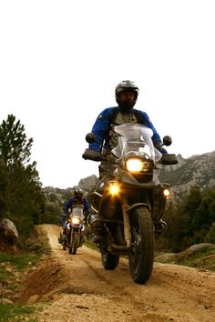 BMW GS - start the BMW GS Academy Off Road for GS Trophy