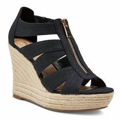 Best comfortable wedge sandals for summer | Meredith espadrille wedges at Target
