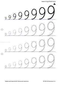 schrijf het cijfer 9