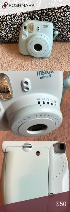 Instax mini 8! Instant film camera. In perfect condition! Does not come with box or film but you can find the film anywhere. Has 5 different modes in it. Anthropologie Other