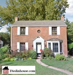 The house in St. Louis, MO were the exorcism of Roland Doe was conducted in 1949. This true story is what inspired William Peter Blatty to write the 1971 novel and the 1973 film both named The Exorcist.