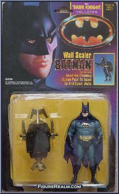 Kenner Batman - The Dark Knight Collection Series 1 Batman (Wall Scaler) Figure 1990