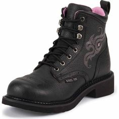 Justin Ladies' 6 in. Gypsy Workboot, Black - Tractor Supply Co.