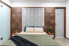 Latest catalog board false ceiling designs This simple to create drywall texture is commonly installed on a ceiling, but can be created on walls just. Bedroom Bed Design, Bedroom Furniture Design, Modern Bedroom, Bedroom Wall, Bedroom Decor, Bed Room, Apartment Interior, Apartment Design, Bed Back Design