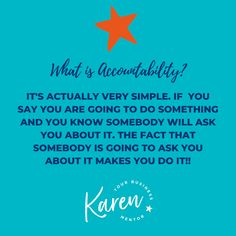 Do you know about Accountability? Do you have an Accountability partner or Group?  I love Accountability because quite simply it works. It works by the fact that you say you are going to do something and you know somebody is going to ask you about it means that you'll will need an answer!   You don't necessarily need to have done it but you'll need a good answer!   #smallbusiness #smallbusinessowner #ladyboss #womeninbusiness #businessmentor #cheshire #knutsford #wilmslow #stockport… Say You, Did You Know, Give It To Me, I Appreciate You, What I Need, Growing Your Business, Getting Things Done, Business Women, Accounting