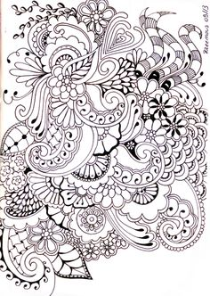 Zentangle journal ideas