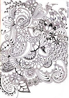 Zentangle journal ideas
