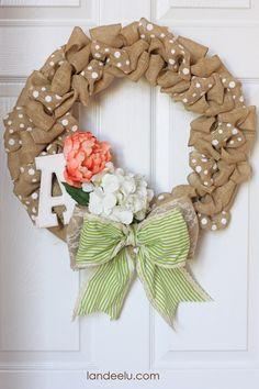 how to make a burlap wreath burlap wreath how to burlap wreath tutorial wedding wreath idea