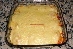 Recopilatorio de recetas : Huevos rellenos con bechamel con thermomix Bechamel, Sin Gluten, Lasagna, Mashed Potatoes, Eggs, Pudding, Cheese, Ethnic Recipes, Desserts