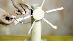 How to Make a Windmill for a School Project