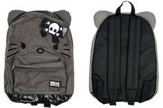 Angry Hello Kitty Backpack with Ears - Neatorama