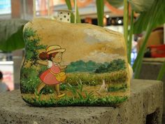 Original hand painted stone stone Fun tribal painted Chinchilla series of ultra fine gift ideas-in Crafts from Home & Garden on Aliexpress.com | Alibaba Group