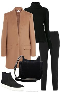 New ideas for travel outfit sneakers camel coat Mode Outfits, Stylish Outfits, Winter Outfits, Fashion Outfits, Fashion Mode, Look Fashion, Womens Fashion, Fashion Trends, Fashion Stores