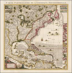 Post with 0 votes and 1672 views. A Map of the British Empire in America with the French, Spanish and the Dutch Settlements adjacent - ca 1733 Us History, American History, Old Maps, Vintage Maps, Historical Maps, Geography, North America, Dutch, Spanish
