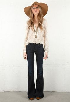 Angie Super Flare Jeans in Scorpio - by Citizens of Humanity