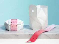 Foldable Origami Containers : foldable food