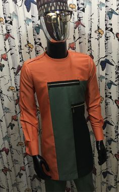 Michael Charles African Wear Styles For Men, Ankara Styles For Men, African Shirts For Men, African Dresses Men, African Attire For Men, African Clothing For Men, Latest African Fashion Dresses, African Print Fashion, Mens Leisure Wear