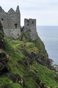 Dunluce Castle, Northern, Ireland - This was a beautiful View on the way to…