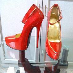 женская обувь сексуальная заостренный носок стилет каблук кожа насосы партия обуви – USD $ 179.99