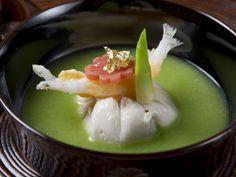 山と海に囲まれた伊豆高原で旬の素材を用いたお宿うち山流 「懐石料理」