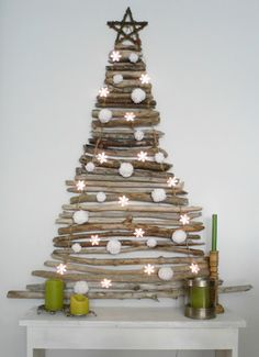 Unconventional Christmas Trees@ Make Them Wonder Blog...For my Daughter Kim...<3