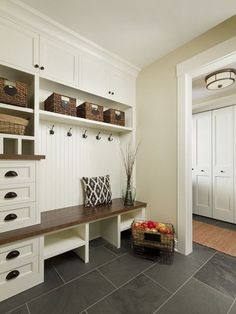 Awesome 40 Rustic Small Mudroom Bench Ideas. More at https://trendecorist.com/2018/02/13/40-rustic-small-mudroom-bench-ideas/