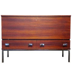 Chest with Drawers by Philippon and Lecoq - France - 1957   See more antique and modern Commodes and Chests of Drawers at https://www.1stdibs.com/furniture/storage-case-pieces/commodes-chests-of-drawers