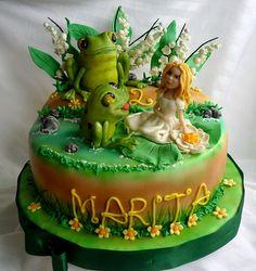 Thumbelina B-Day Cake
