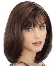 Medium Length Hairstyles with Bangs - Bing Images