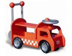 VILAC Camion Porteur Pompier - Dès 18 mois