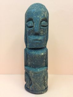 Wooden Figure from Moluccas Islands by EthnicArtandJewelry on Etsy, $19.95