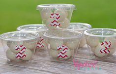 Chevron Party Snack Cups1st Birthday PartySet by SignatureAvenue