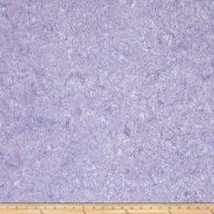 Jinny Beyer Malam Batiks III Leaf Scroll Light Purple