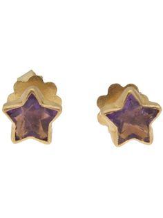 MARIE HELENE DE TAILLAC Gold Star Earring