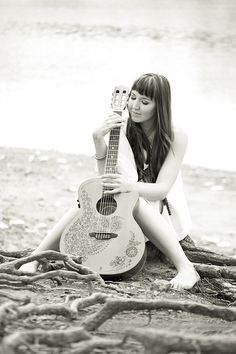 LUNA GUITARS PIN FOR PEACE Kristen Porter plays Luna Guitars  Click image to read and hear more
