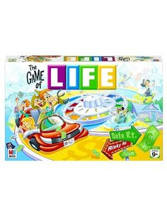 Hasbro Board Games - Game of Life - always different but fun. #life, #games, #boardgames