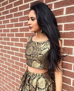 Golden Two Piece