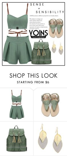 """Yoins"" by amrafashion ❤ liked on Polyvore featuring yoins"