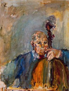 Kokoschka, Oskar - Pau Casals - Secession - Portrait - Oil on canvas - PInterest